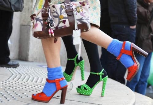 bright-blue-socks-with-orange-sandals-color-blocking