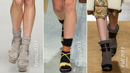 socks-with-sandals-trend-on-the-runways