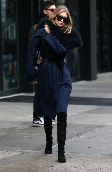 Gigi+Hadid+Outerwear+Wool+Coat+ZtGOK5Ya0uzl