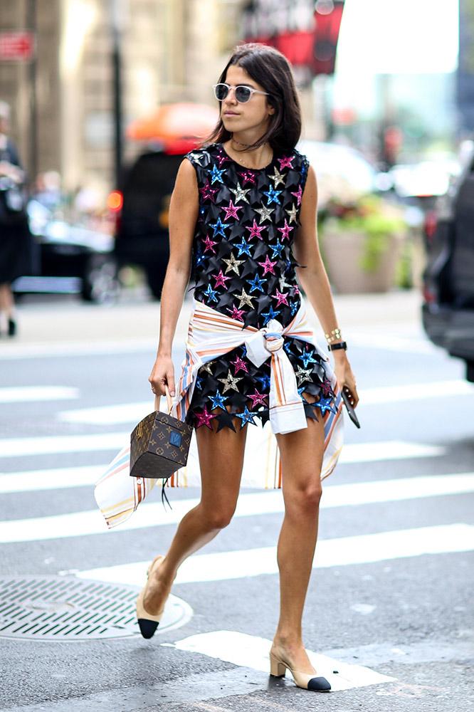 summer-prints-printed-dress-tied-shirt-street-style