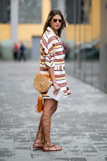 summer-prints-striped-jacket-street-style
